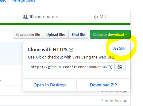 How to clone a GitHub repository using SSH